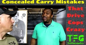 [VIDEO] Concealed Carry Mistakes That Drive Cops Crazy