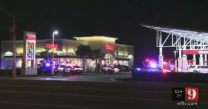 Gas Station Guard Attacked By Two Men, Concealed Carrier Comes To His Aid