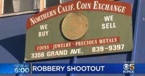 Armed Robbery Leads To Street Shootout With Owner, Stray Bullet Hits Man Inside Home
