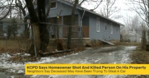 Homeowner Shoots, Kills Man Trying To Steal Car Out Of Driveway