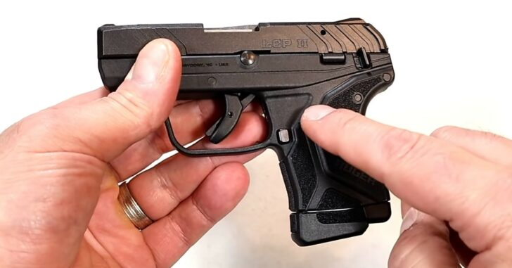 """[FIREARM REVIEW] New Ruger LCP II .22 LR """"Lite Rack"""""""