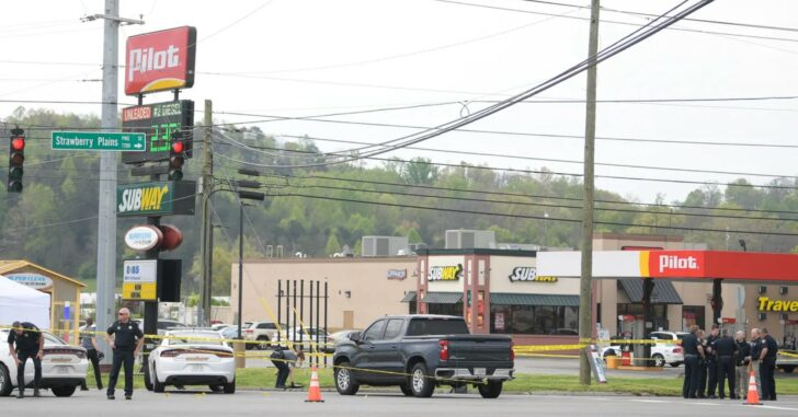 Suspect Fatally Shot After Stabbing 4 People At Tennessee Gas Station, Killing 3