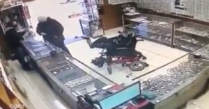 When You Think You've Seen It All: Teen Tries Robbing Store With His Feet