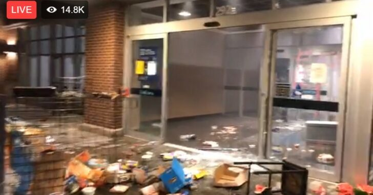 LIVE: Chaos In Minneapolis