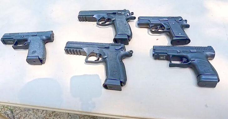 [VIDEO] A Rundown Of Multiple CZ Handguns