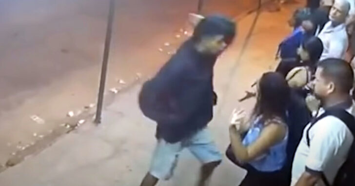 [VIDEO] Robber Dies Of Heart Attack During Robbery