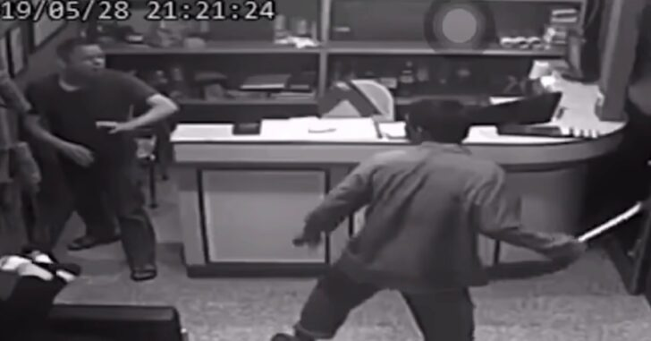 Terrifying Attack Caught On Camera Has Every Gun Owner Wishing Someone Was Armed