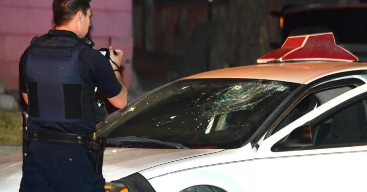 Pizza Delivery Driver Shoots Robbery Suspect Through Windshield, Striking Him In Abdomen