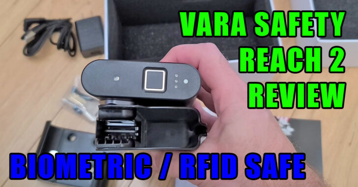 [REVIEW] Vara Safety Reach 2 Biometric Holster Safe