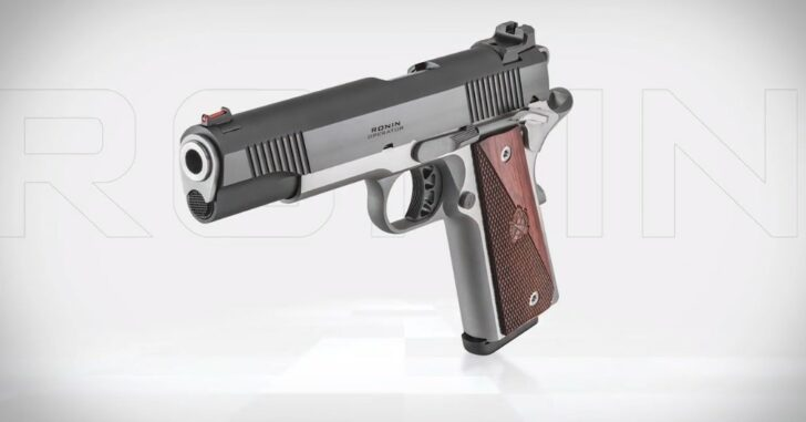 Springfield Armory's Ronin Should Be On Your List Of Beautiful Handguns To Own