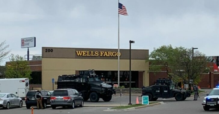 Hostage Situation At Wells Fargo Bank In St. Cloud