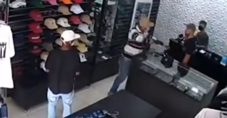 Store Owner Shoots And Kills 3 Armed Robbers In Same Store Where His Father Was Gunned Down During Robbery