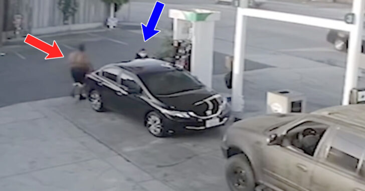 Why We Carry: Woman Randomly Attacked At Gas Station By Man