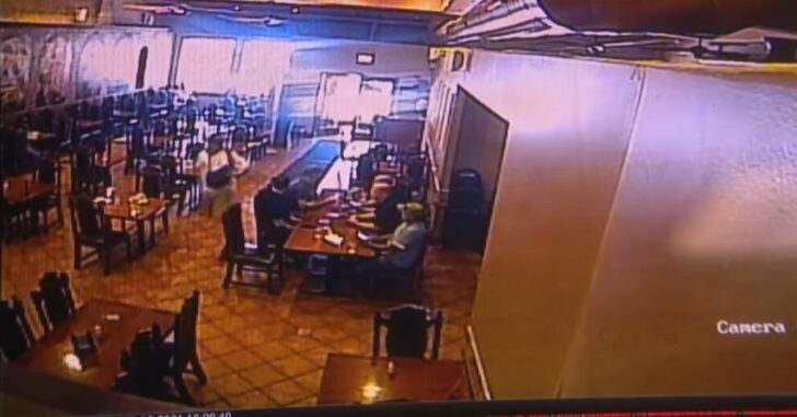 Shooting Suspect Ends Up Crying When He Runs Into Restaurant Filled With Police While Trying To Flee