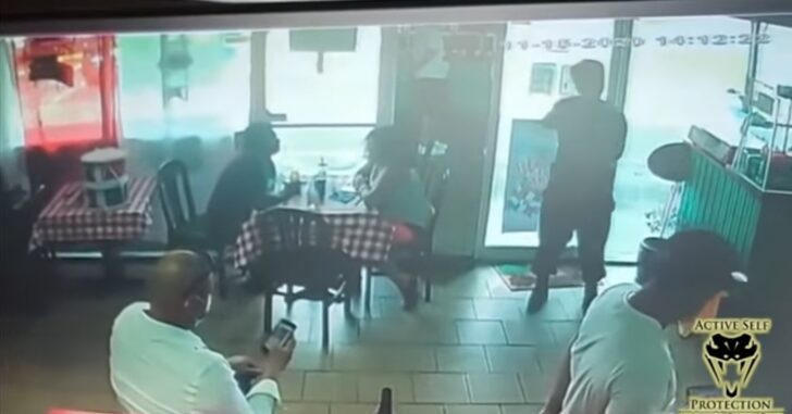 Business Owner Saves Lives After Man Pulls Out AR And Starts Shooting